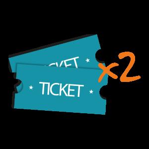 2 tickets offert par partenaires