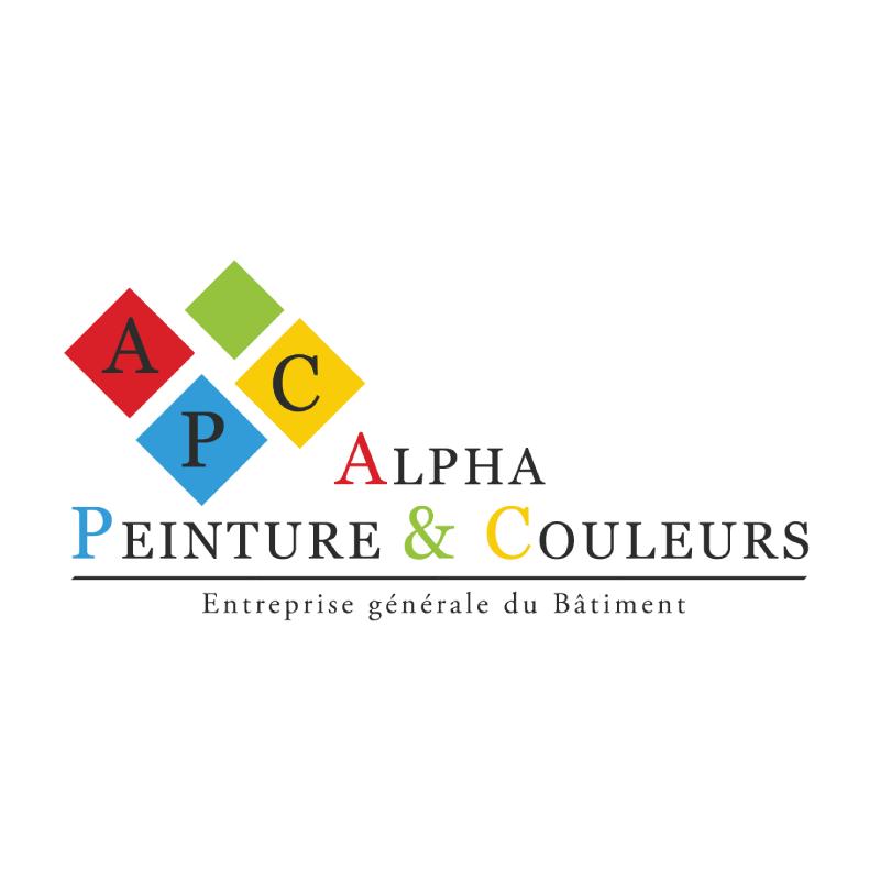 Logo du partenaire Alpha Peinture & couleurs