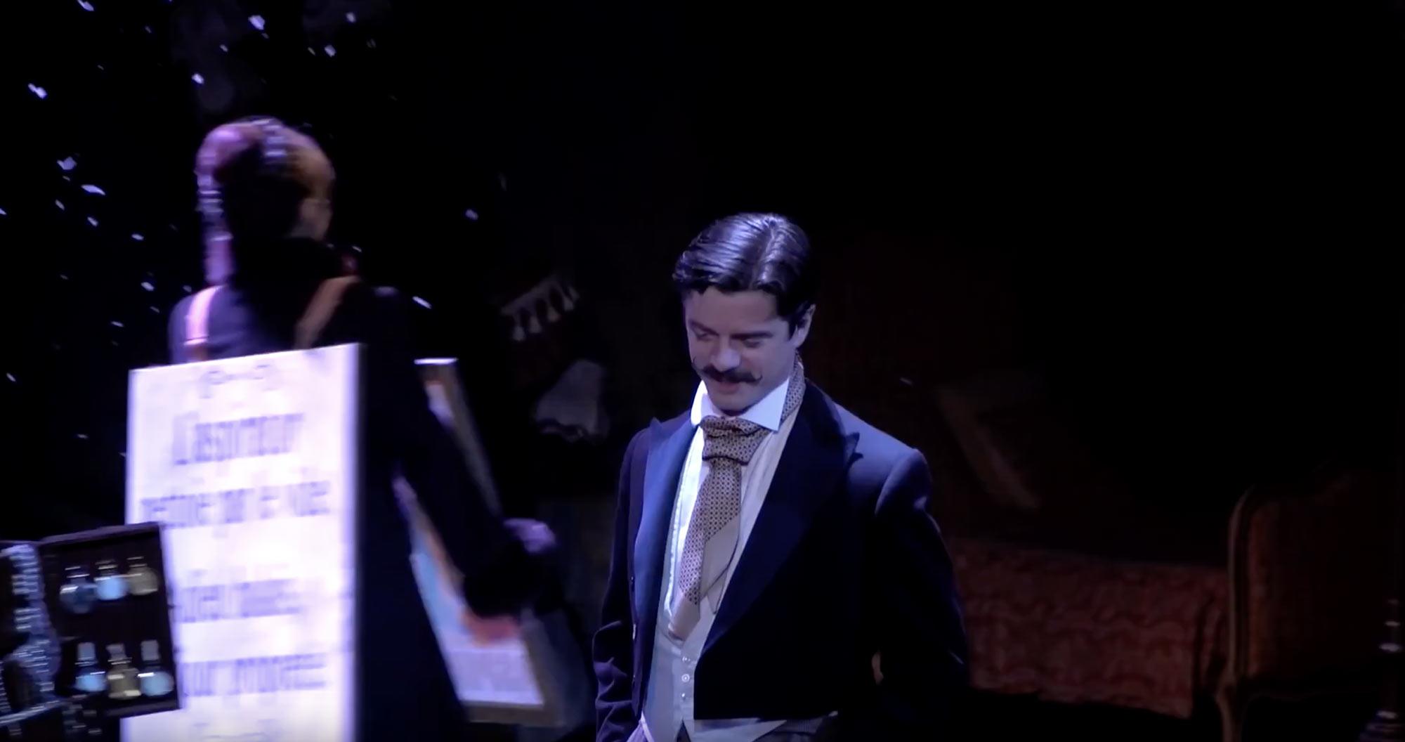 Pièce Edmond joué au Théâtre National de Nice TNN