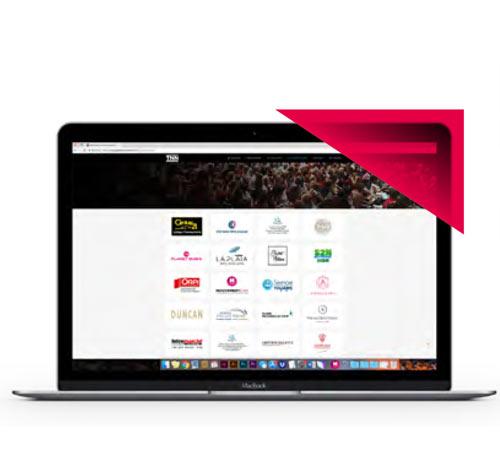 Promotion des partenaires sur le site internet