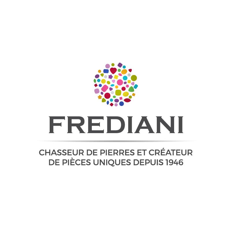 Logo Frediani chasseur de pierres et créateur de pièces uniques depuis 1946