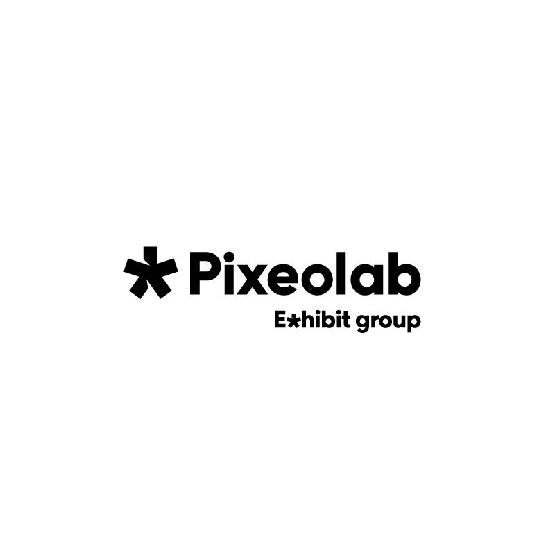Logo Pixeolab du groupe Exhibit
